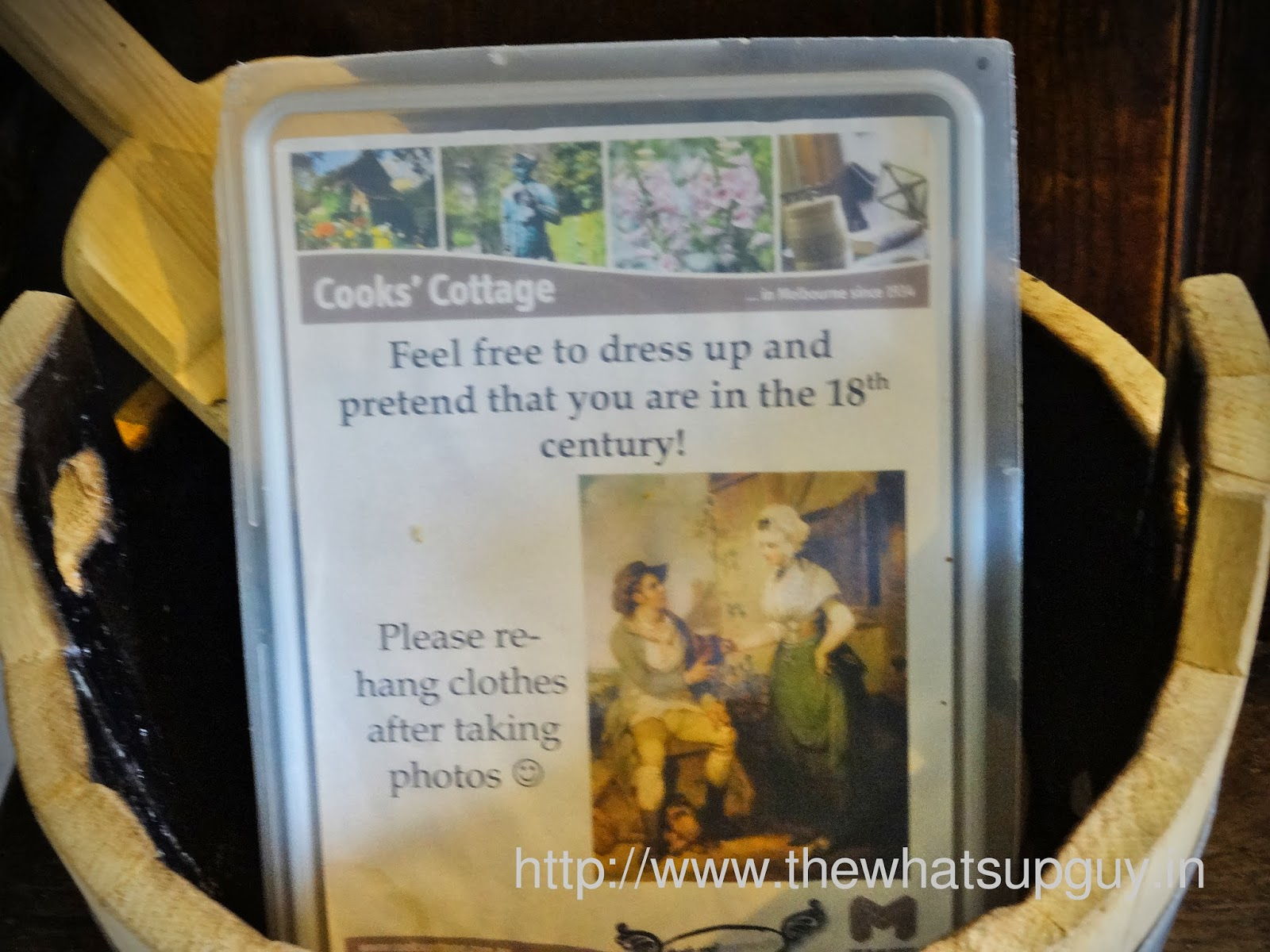 Dress Up In Cooks Cottage