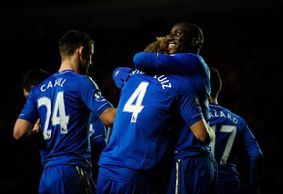 Demba Ba First Goal Celebration At Chelsea Hd Desktop Wallpaper