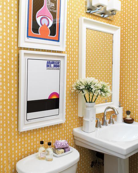Baú da Arteira IDEIAS CRIATIVAS PARA BANHEIROS -> Banheiro Pequeno Ideias Criativas
