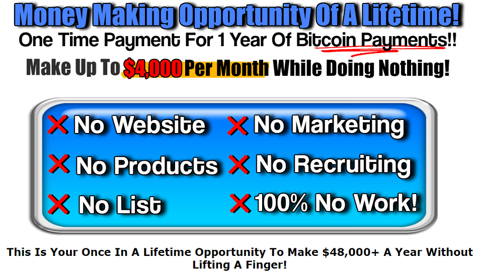 Make Money Online Without Lifting A Finger