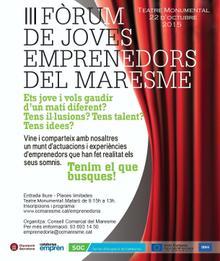 III Forum d'emprenedors a Mataró
