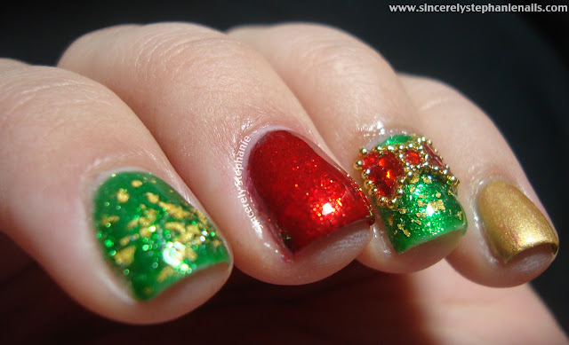 zoya gilty nail art