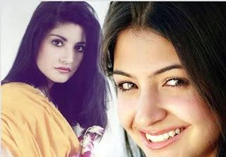 Anushka Sharma resembles Nazia Hassan.Whats you opinion? - Pakistan Celebrities