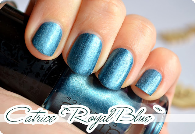 Review Catrice Rocking Royals Ultimate Nail Lacquer ROYAL BLUE