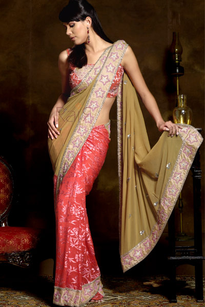 Pakistan Saree is loved by Pakistani ladies all of the girls, women
