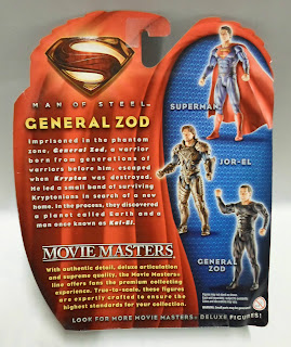 Mattel Man of Steel Movie Masters General Zod Figure