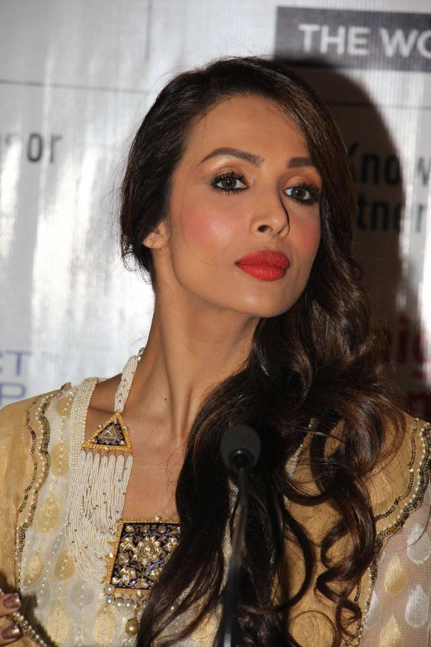 Malaika Arora Khan Stills In White Dress