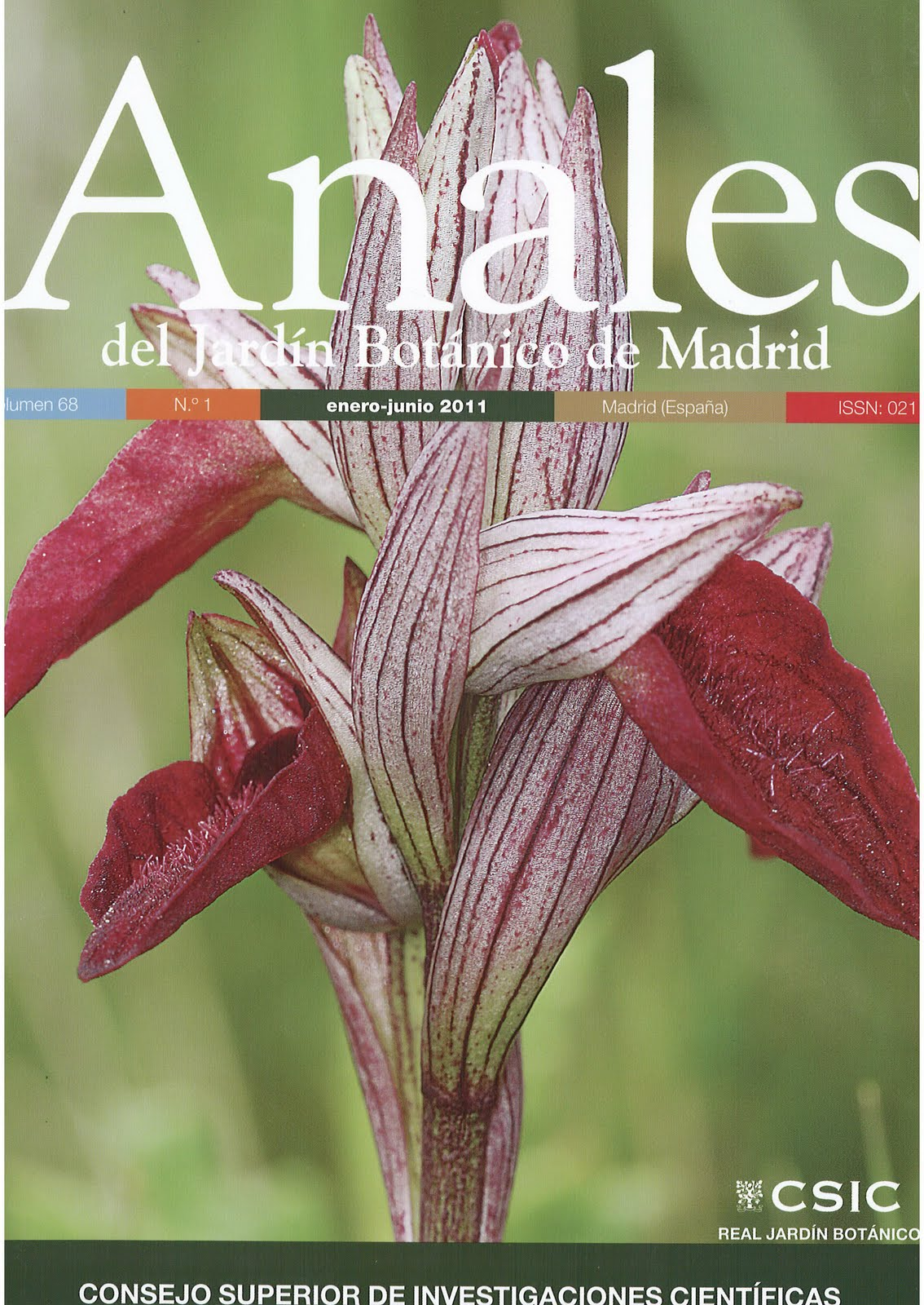 1941 establishments in spain for Anales del jardin botanico de madrid