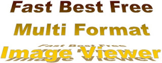 Fast Best Free Multi Format Image Viewer