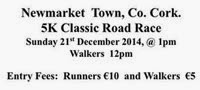 5k race in NW Cork
