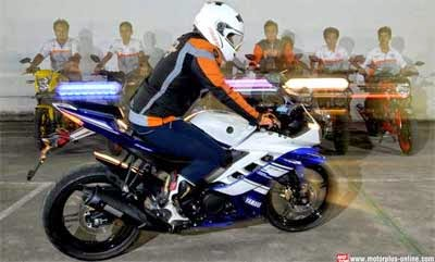 Ride Position Yamaha R15