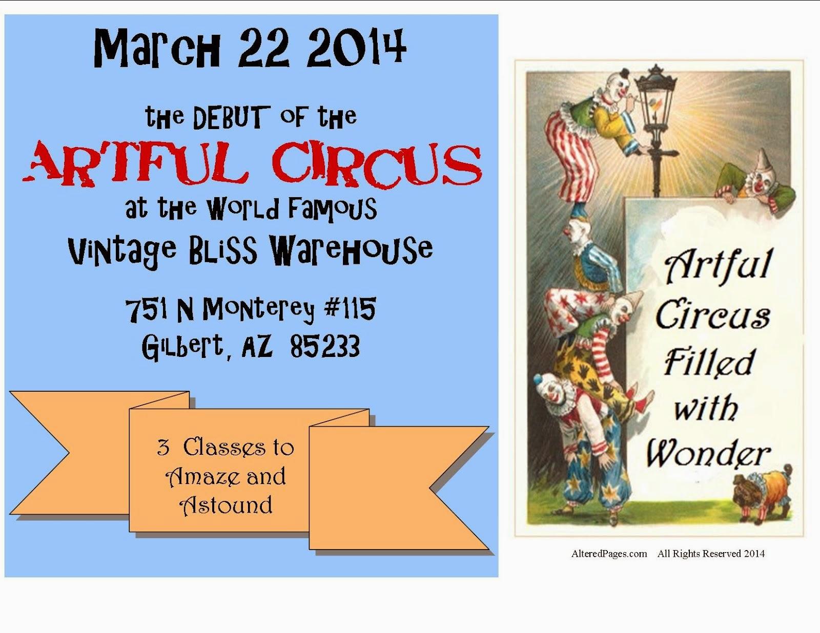Artful Circus Class