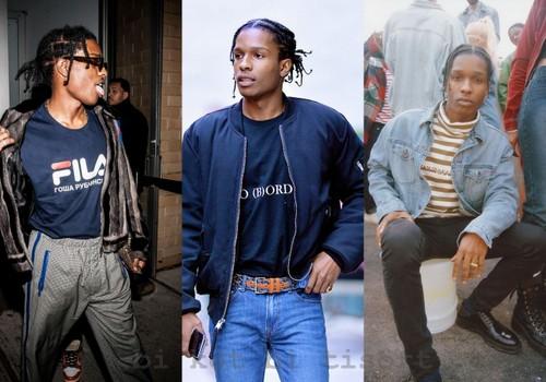 Ay Tutuldum Ben Birine: A$AP Rocky