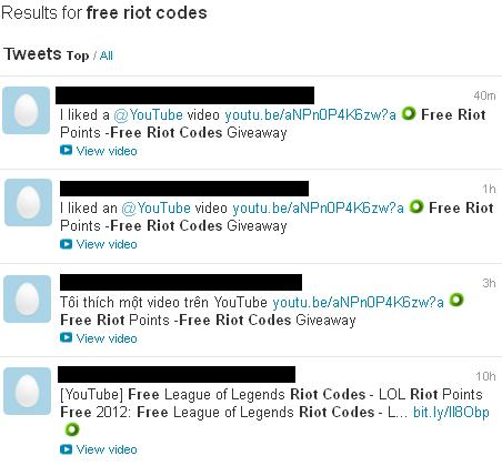 Coupons riot games