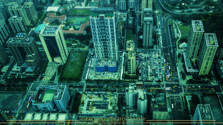 Taipei Miniature Effect, © 2015 Exodist Photography, All Rights Reserved