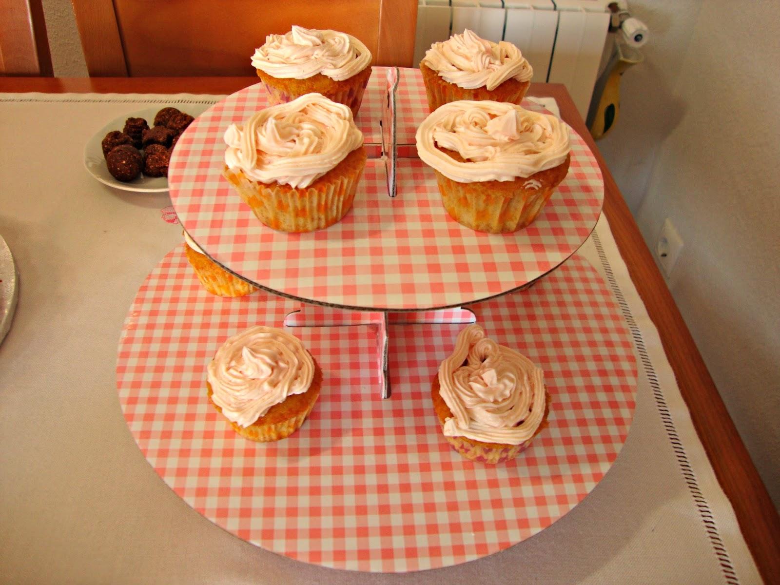 Cupcakes sin lácteos