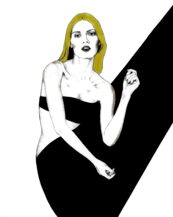 Doctor Ojiplático. Maria Caleis Ilustración y Moda | Fashion Illustration
