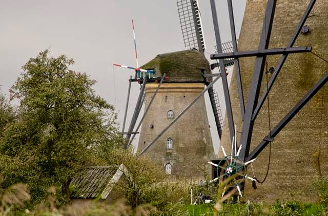 The Netherlands, Old windmills of Kinderdijk