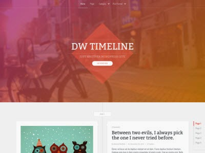35 Free Responsive WordPress Theme