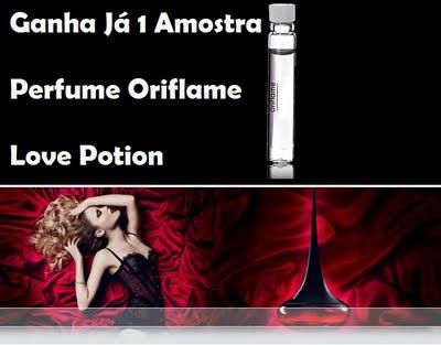 amostras de perfume oriflame