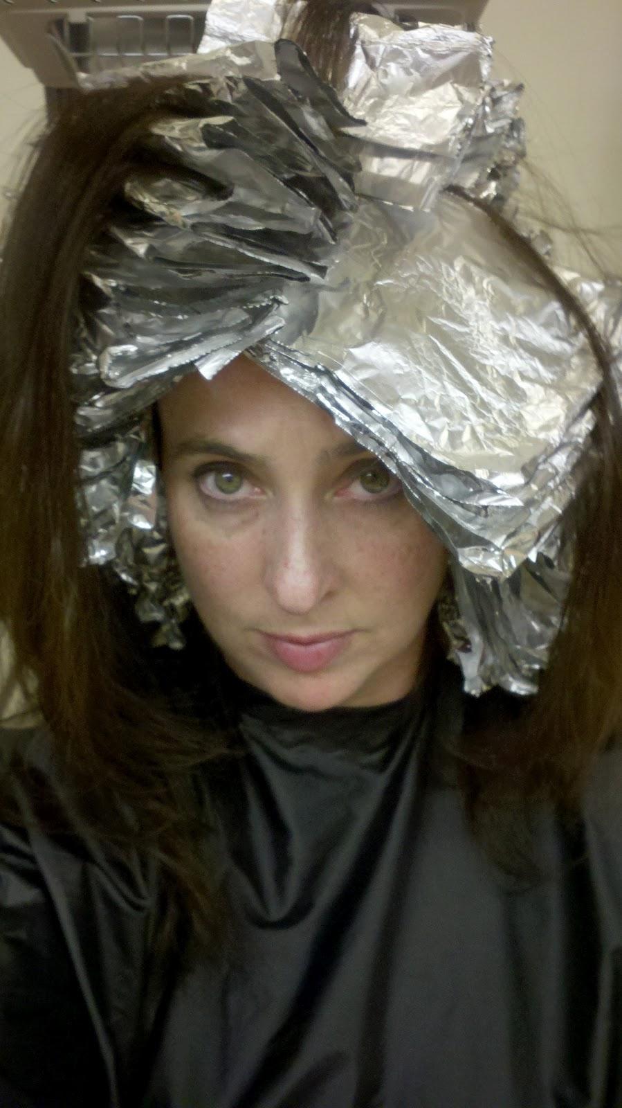 Where To Place Foils In Hair Foils Hair Dark Brown Hairs
