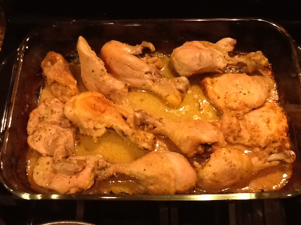 Amanda's Recipes Worth Repeating!: Baked Chicken with Dijon and Lime