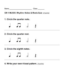 rhythm assessments