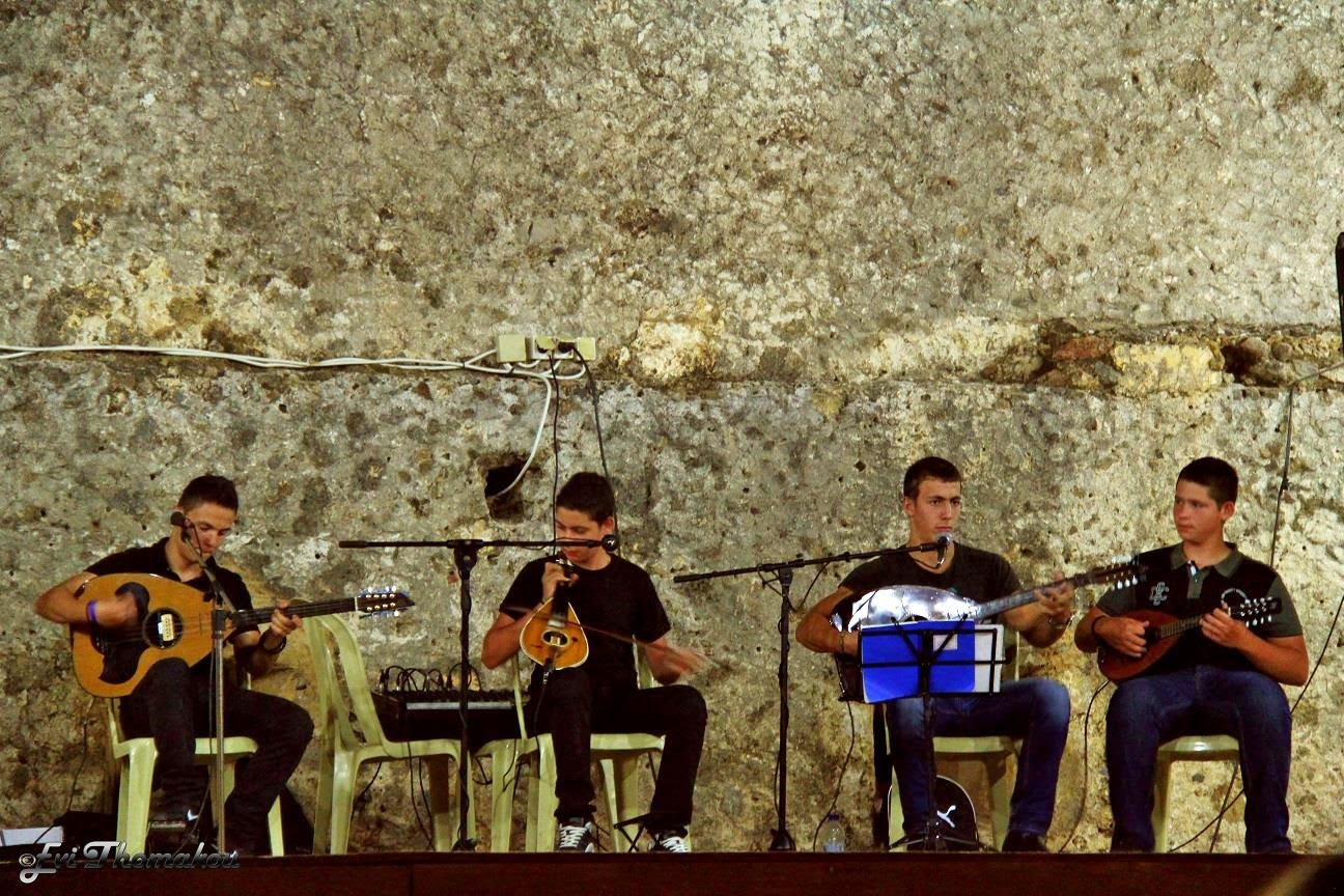 Frangokastello celebrations - music band