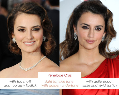 Make Up Charts Olive Skin Tone Such Penelope Cruz Has