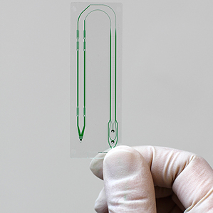 Microfluidic device that captures circulating tumor cells could give doctors a noninvasive way to diagnose and track cancers