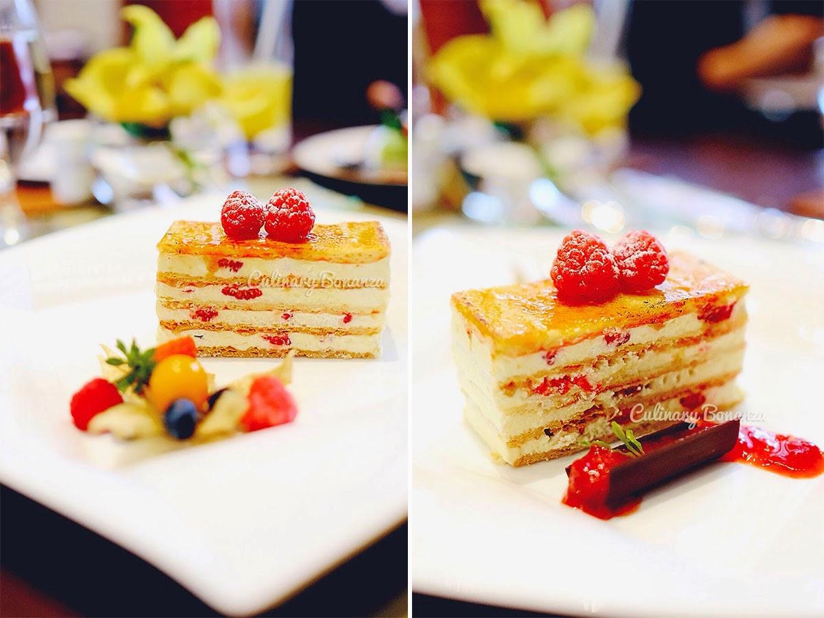 Raspberry Millefeuille (www.culinarybonanza.com)