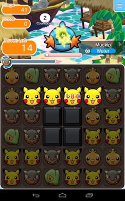 Pokémon Shuffle Mobile MOD APK-Screenshot