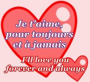 I Adore You In French Je t'aime de tout mon ...
