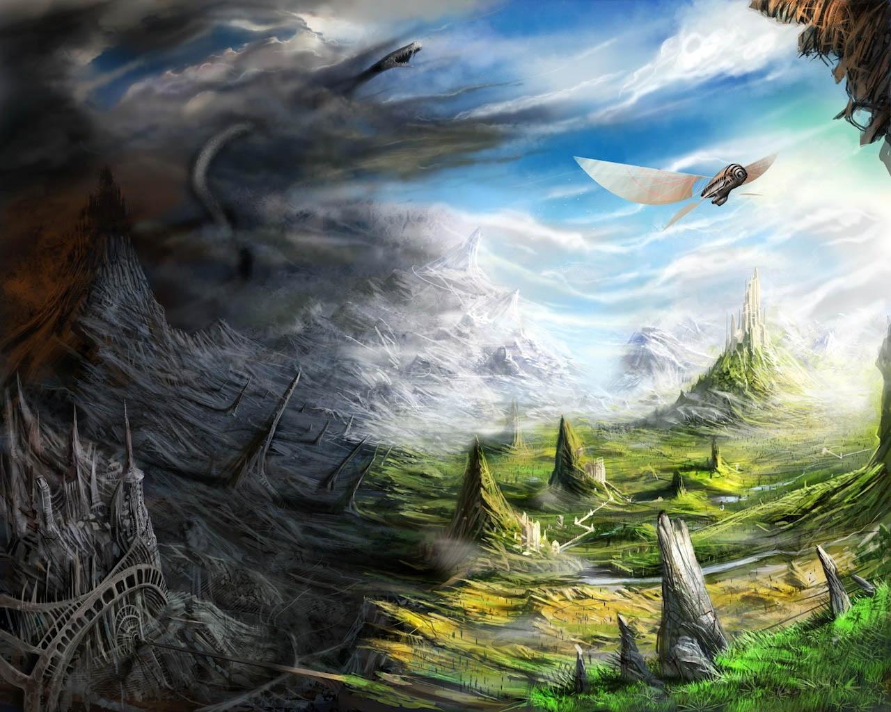 Fantasy World - Fantasy Art
