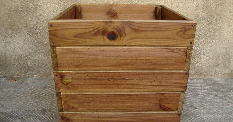 Macetero en madera autoclave - Autoclave para madera ...