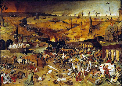 Pieter Brueghel l'ancien - Le triomphe de la mort, 1562
