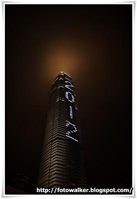 2012 新年煙火@IFC
