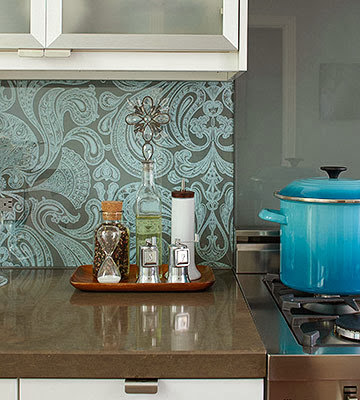 kitchen vinyl wallpaper