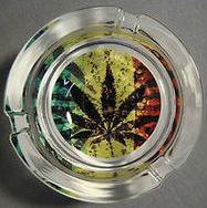 Cenicero marihuana