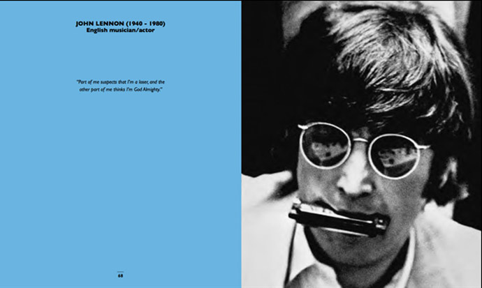 50 Shades - John Lennon. Photo: Robert Whitaker/Getty Images
