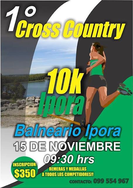 10k Balneario Iporá (Tacuarembó, 15/nov/2015)