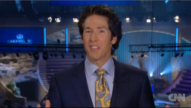 from Walker joel osteen and gays