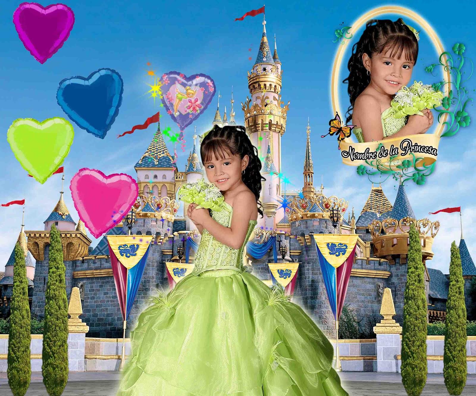 Caritas con castillo y globos - **El blog del diseñador descargar