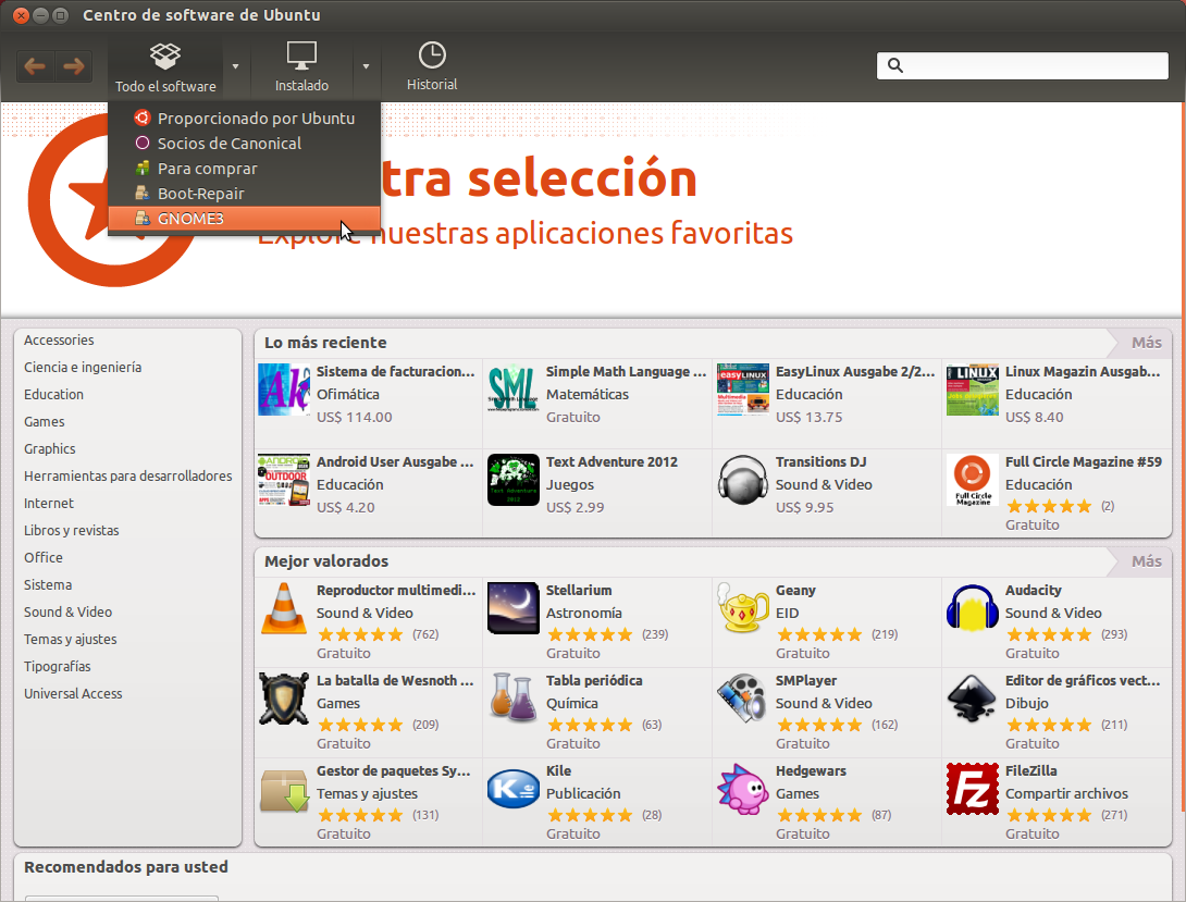 Audacious ubuntu 12 04