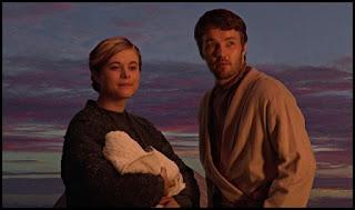 Joel Edgerton y Bonnie Piesse en La venganza de los Sith (2005)