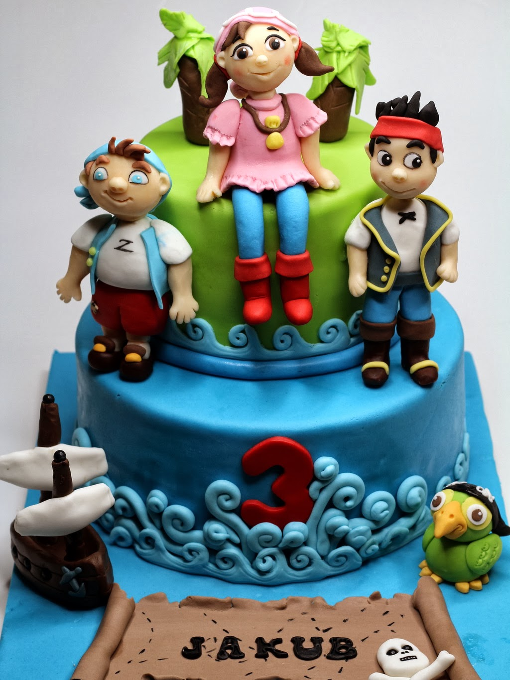 London Patisserie Jake And The Never Land Pirates Birthday Cake