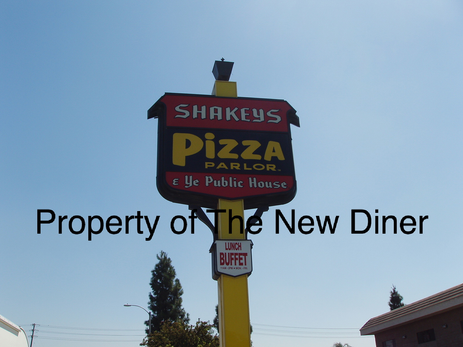 The New Diner: Shakey\'s Pizza