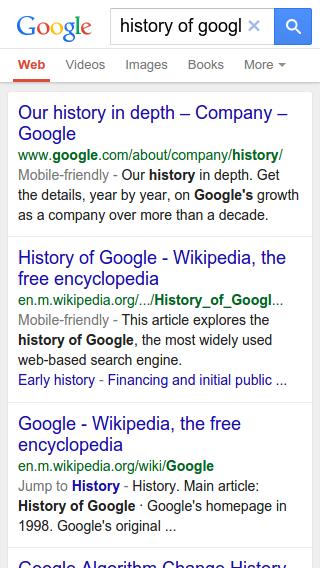 cambios url google