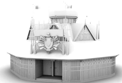 Le Pavillon de l'Australie en 3D