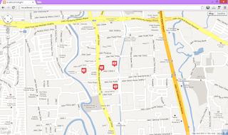 google maps SQL